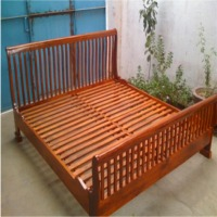 Wooden Bed ( Gc Bed -023)