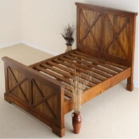 Wooden Bed ( Gc Bed -040)