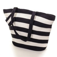Stripe Cotton Beach Bags
