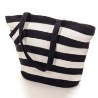 Stripe Cotton Beach Bags