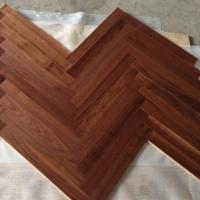 Herringbone Walnut Engineered Wood Flooring Tile