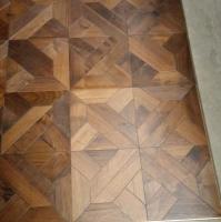 Versailles Walnut Timber Floor Parquet Tile