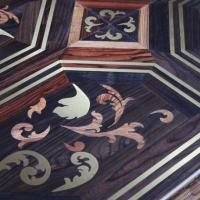 Brass Walnut Art parquet Wooden Floor Decor