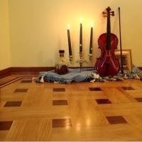 Walnut Hardwood Floor Semi-solid Wooden Floor