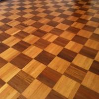Oak Square Tile Engineered Wood Flooring
