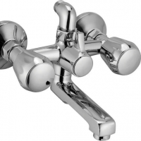 Two Knob Shower Mixer Telephonic