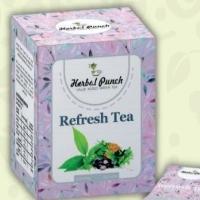 Refresh Ayurvedic Medicinal Herbal Green Tea