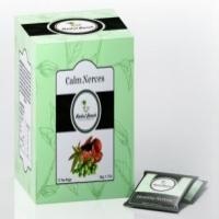 Calm Nerves Ayurvedic Medicinal Herbal Green Tea