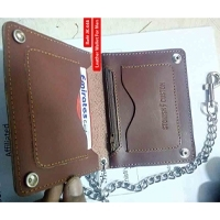 Card Holder With Chain Lock