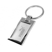 Metal Square Keyring with Engraving
