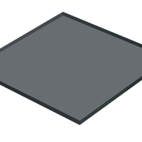 Dark Gray Float Glass