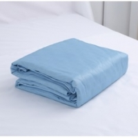 Negative ion Cool Bedding - Sky blue quilt