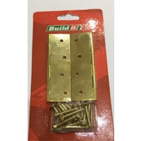 Steel Butt Hinge (Pair & Skin Card Packed)