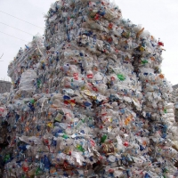 PET Bottles Bales Scrap - Waste