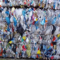 LDPE Film Mix Color Bales Scrap