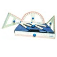 Geometrical Instrument Box Plastic