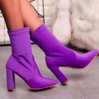 Woman High Heel Martin Short Boot