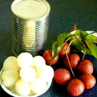 Lychees In Light or Heavy Syrup