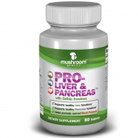 Herbal Mushroom Remedy Pro-Liver & Pancreas