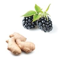 Dark Balsamic Vinegar Blackberry Ginger