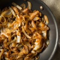 Dark Balsamic Vinegar Caramelized Onion