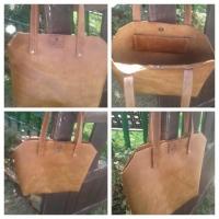 title='Ladies 100% Leather Handbags'