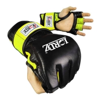 Leather Mma Grappling Gloves
