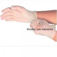 Powdered Disposable Vinyl Gloves