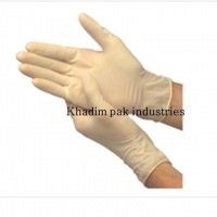 Powdered Disposable Latex Gloves