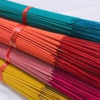 Black And Color Incense Stick