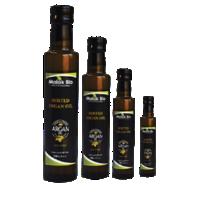 Durica Glass Amber Bottle