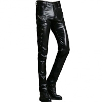 Genuine Leather Pants
