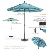 GSPT908 Premium Aluminum Umbrella