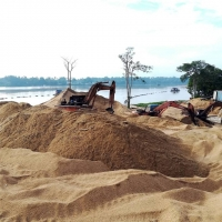 Malaysia River Sand For Construction use