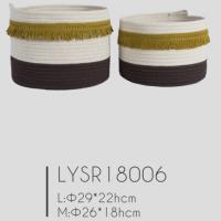 New Fashionable Cotton Rope Storage Basket