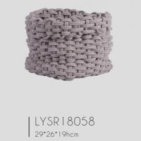Fashionable Cotton Rope Storage Basket