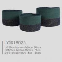 Fashionable Cotton Rope Storage , Modern Basket