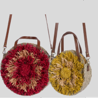 Fashionable Decorate Seagrass Basket , Storage