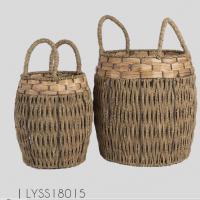 Fashionable Seagrass Basket , Modern Storage