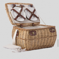 Fashionable Wicker Willow Basket Picnic Storage