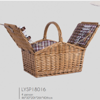 Fashioable Willow Wicker Picnic Storage Basket