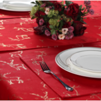 Christmas Table Cloth Runner Napkin
