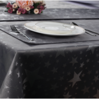 Fashion Table Cloth Runner Napkin Modern