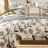 Embridered Bedding Duvet Cover Pillowacse