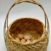Bamboo Basket Storage For Eggs, Fruits Etc