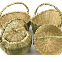 Bamboo Basket Storage