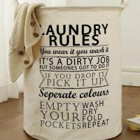 Laundry Storage Basket Foldable