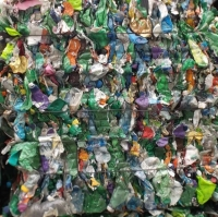 PET Coloured Bottles Scrap