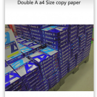A4 Double Paper