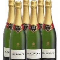 6 x Bollinger Special Cuvee Champagne